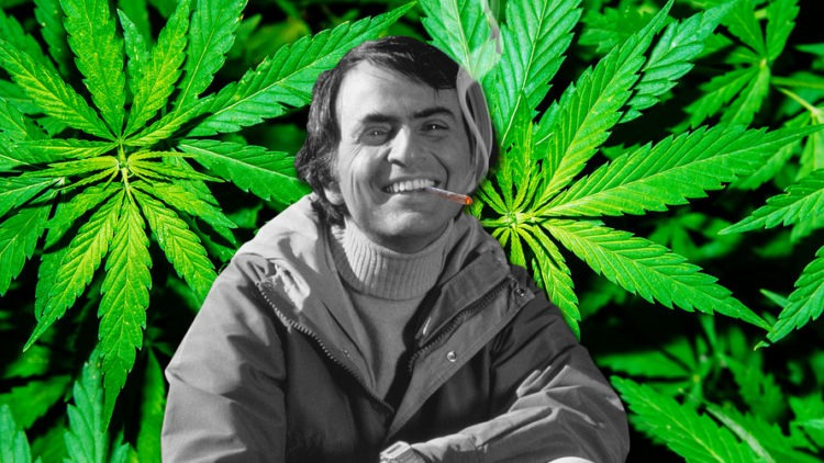 Carl Sagan Wrote An Essay About Why He Liked Smoking Cannabis