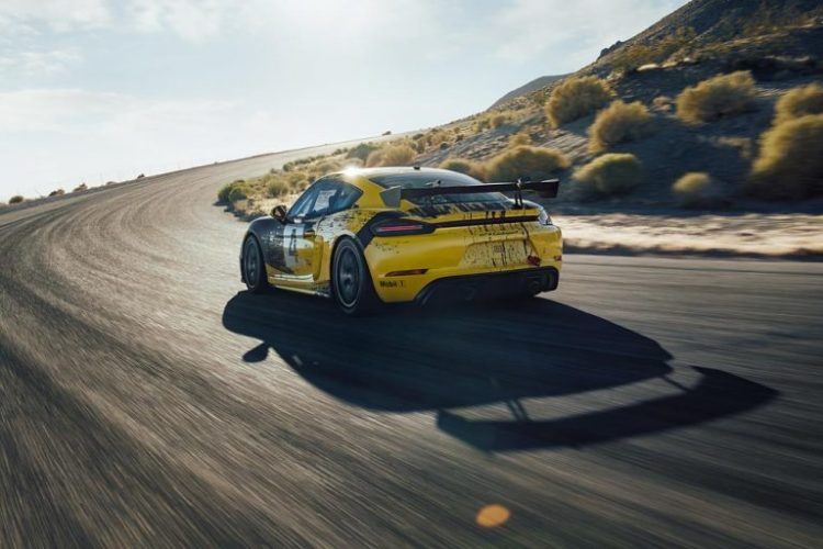 Porsche Releases First Race Car Made of Hemp: 718 Cayman GT4