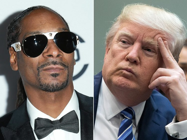 Snoop Dogg Shows Off His New Ashtray And Trump Supporters Won't Like It