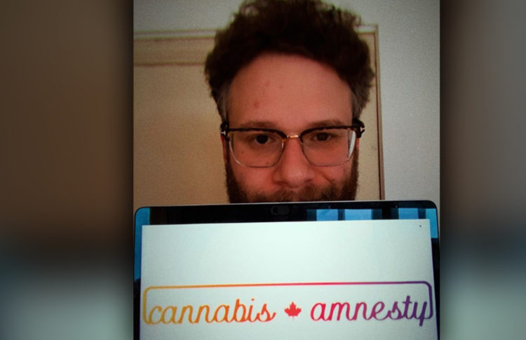 Seth Rogen Joins Calls for Cannabis Amnesty in Canada
