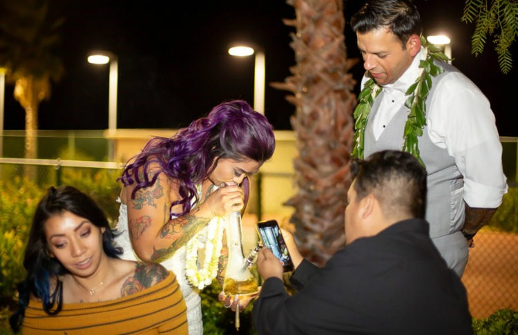 Nice Day for a Weed Wedding: The Couples Who Married With Marijuana