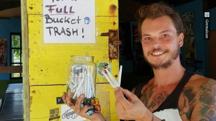 Jamaica: Hostel Distributes Free Joints If You Collect A Bucket Of Garbage From The Beach