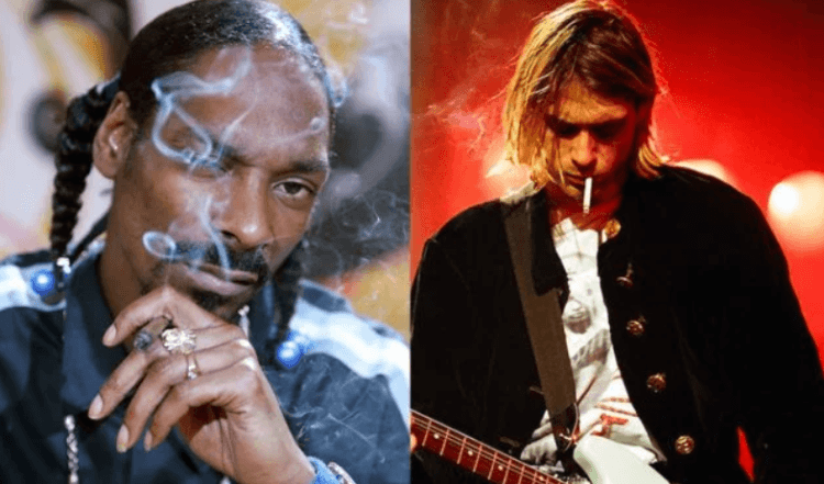 Snoop Dogg Posts Throwback Pic Smoking Weed With Kurt Cobain – Doesn't Realize It's Photoshopped