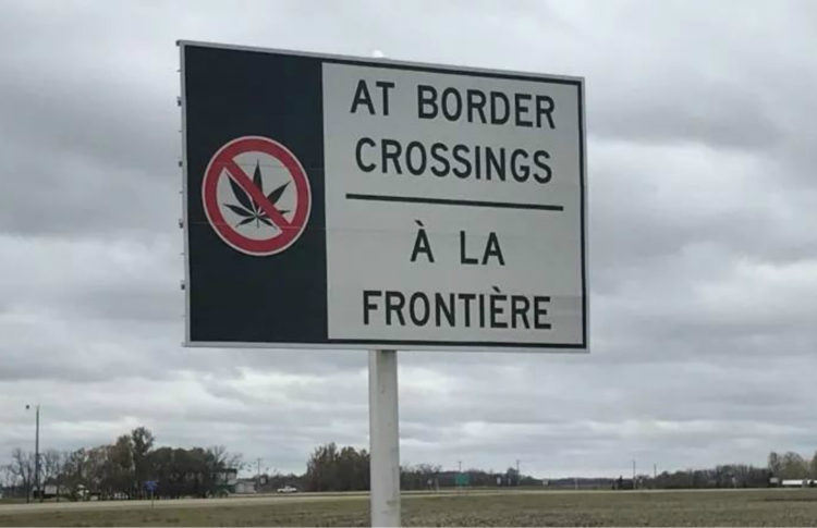 Canadian Woman Faces Lifetime Ban After Getting Caught With CBD Oil at U.S. Border