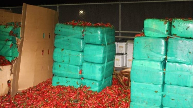 $2.3 Million Worth Of Weed Found In Shipment of Jalapeños In California