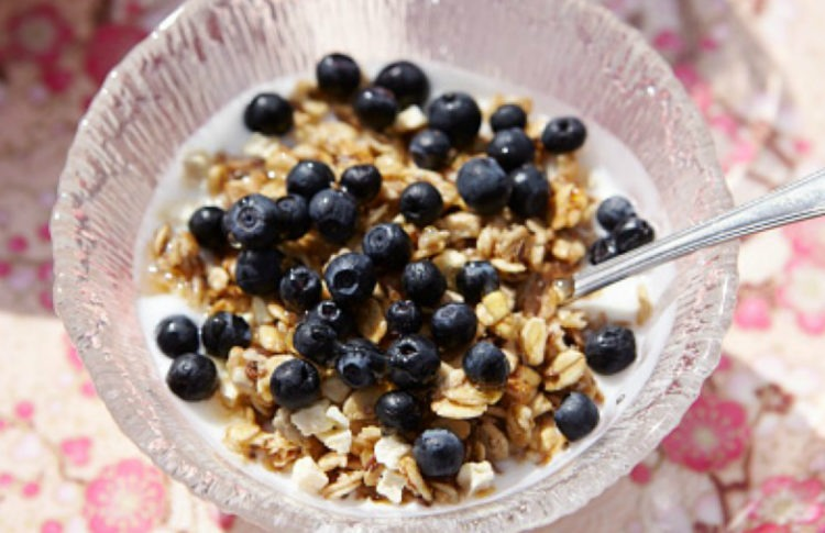 Life Above the Clouds: How to Make CBD Blueberry Granola