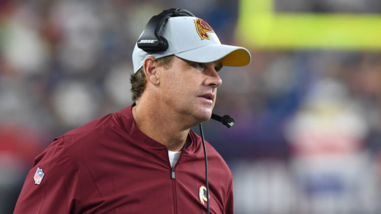 <div>Video Shows Redskins Coach Jay Gruden Smoking Weed & Trying To Hit On Young Girls</div>