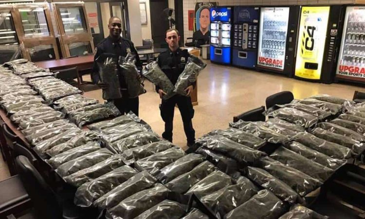 NYC Police Brags About Confiscating Weed, Finds Out It's Hemp