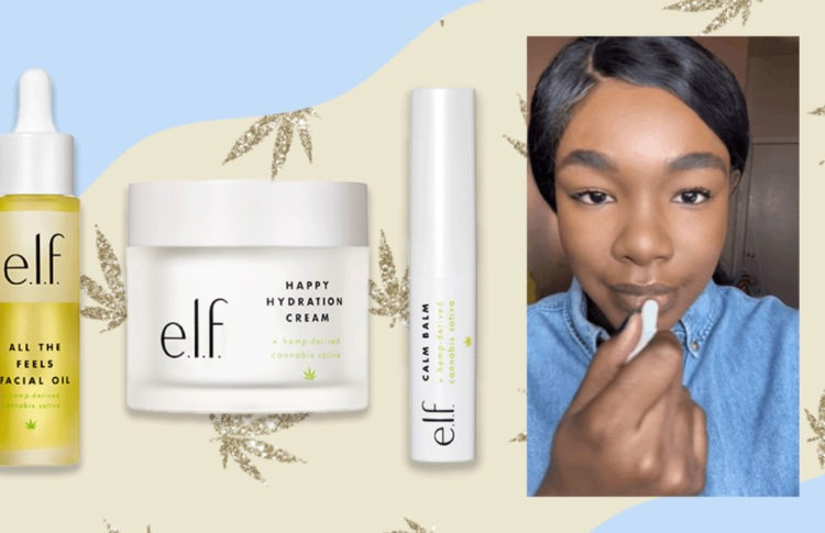 Don't Puff-Puff-Pass on e.l.f.'s New Cannabis Skincare Line—It's Legit