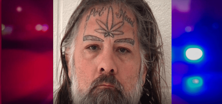 Sex Offender With 'Pot Head' And Joint Tattoos On His Face Is Wanted By The Police
