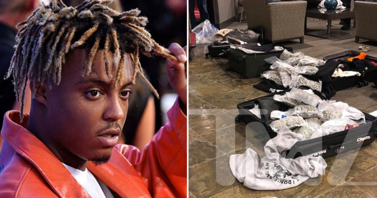 Feds Seized 70 Pounds Of Weed From Private Jet That Flew Juice WRLD