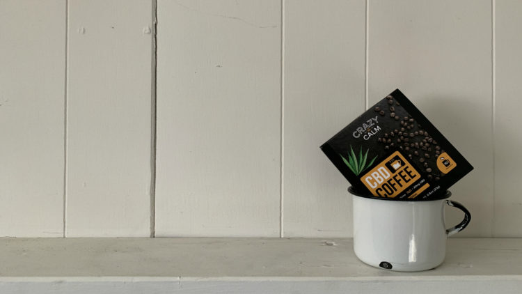 Crazy Calm's CBD Smooths the Edges of Instant Coffee