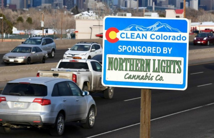Pot Shops Using Highway Sponsor Signs to Work Around Strict Ad Rules