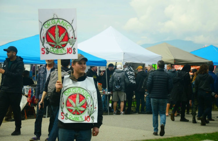 Vancouver 4/20 Event to Protest 'Intolerance of Cannabis' at Sunset Beach in 2020