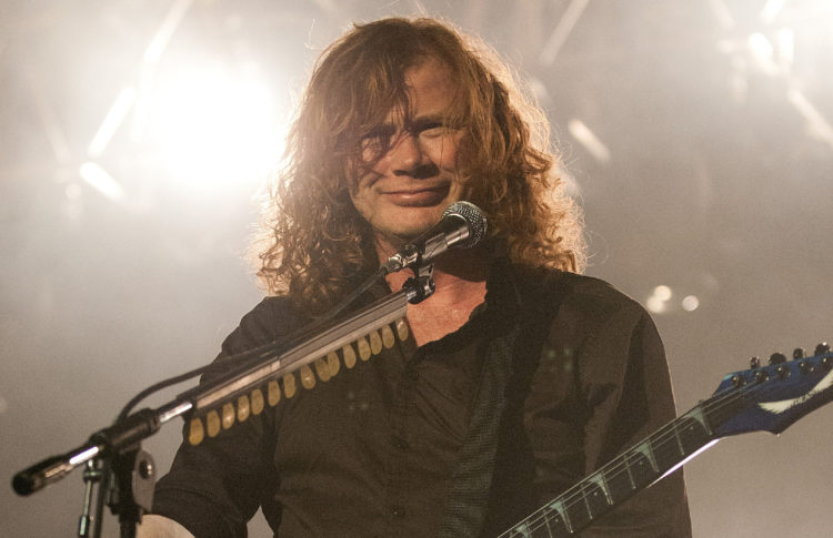 Megadeth's Dave Mustaine: Marijuana Helped My Cancer Recovery
