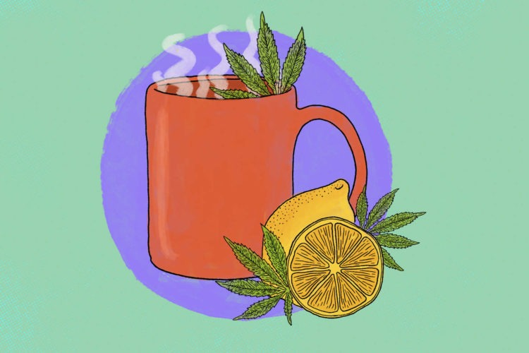 How to Get a Healthier High With DIY Cannabis Tea