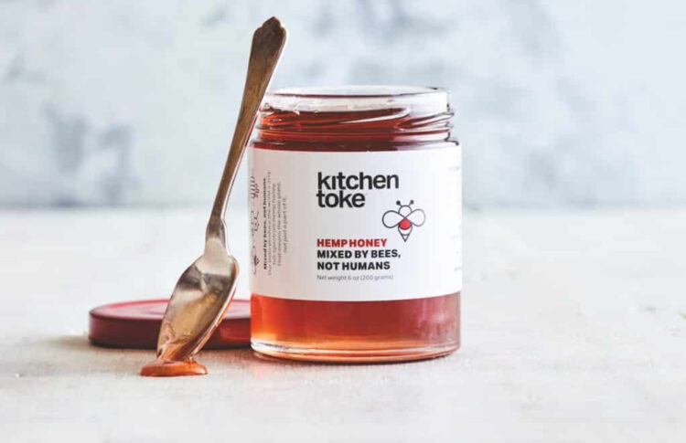 High Country: in Kitchen Toke's New Hemp Honey, the Bees Do the Infusing