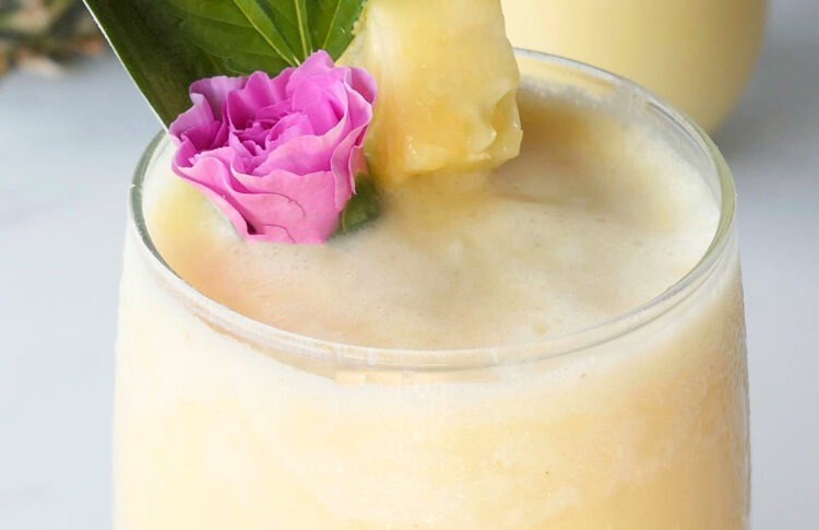 Perfect For Poolside Sipping, This CBD Colada Will Keep You Refreshed All Summer Long