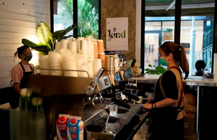 Hong Kong's First CBD Cafe Opens Its Doors To Customers