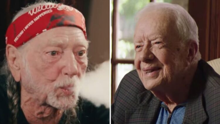 "Jimmy Carter: ""Willie Nelson Smoked Out His Son on the White House Roof"""