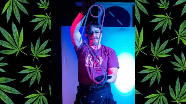 Senior Citizen Strongman Finds Power in Cannabis (And He's Not the Only One!)