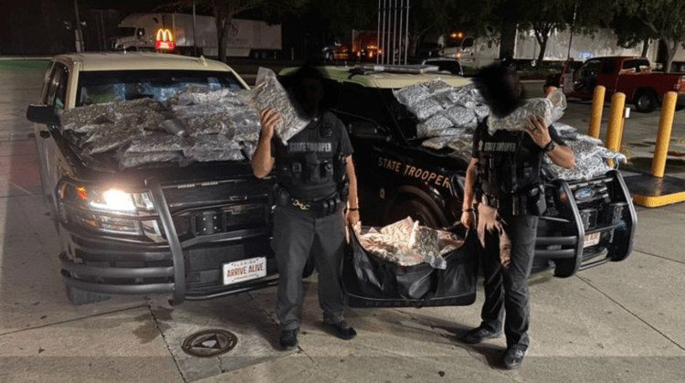 160 Pounds Of Weed Seized In Jacksonville Traffic Stop