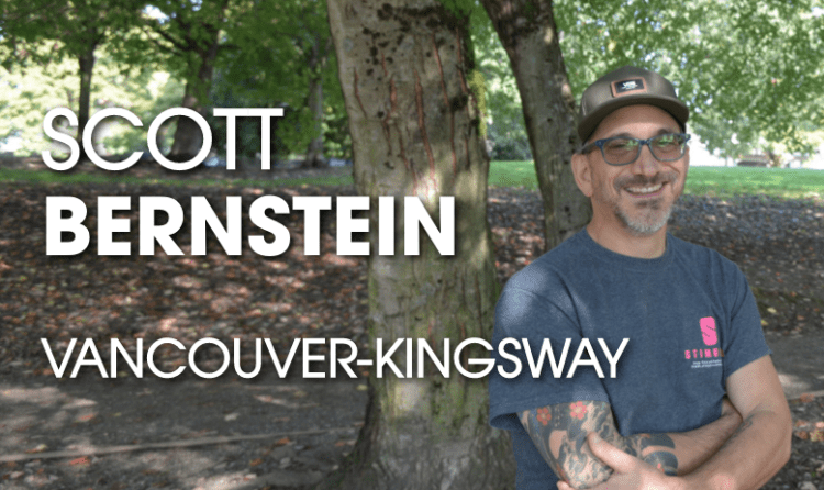 Five Questions With Green Party Candidate Scott Bernstein