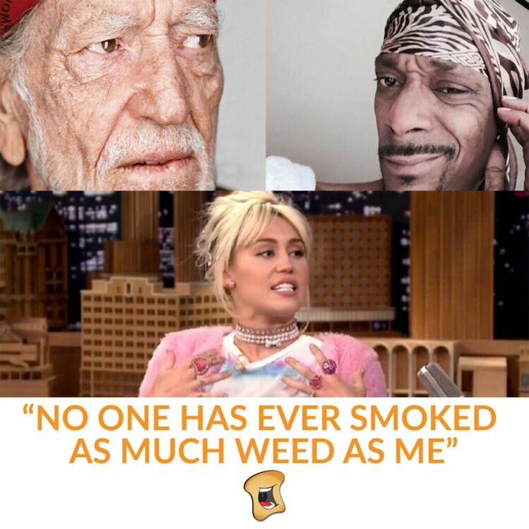 """Miley Cyrus: """"I Was Chased By UFO, Made Eye Contact With An Alien After Smoking Weed From A Guy In A Van"""""""