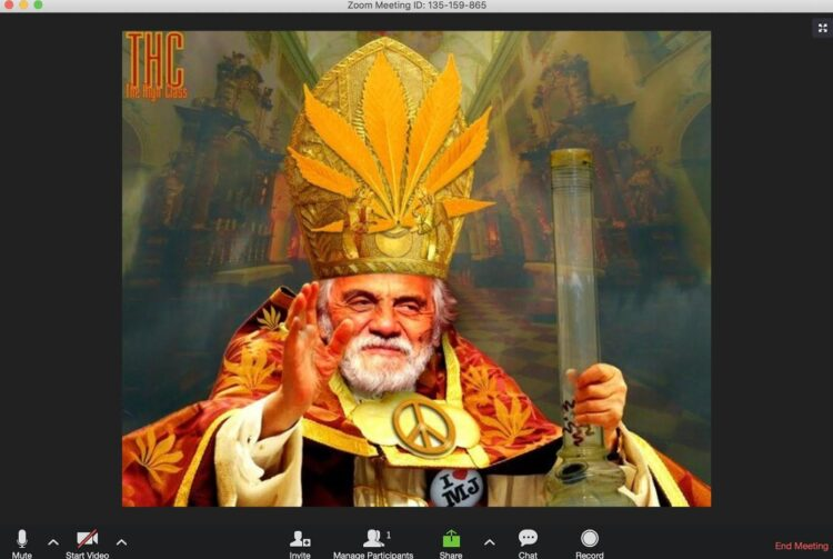 <div>Zoom Call With My Patron Saint (Tommy Chong, Spirituality & End of Life Emotions)</div>
