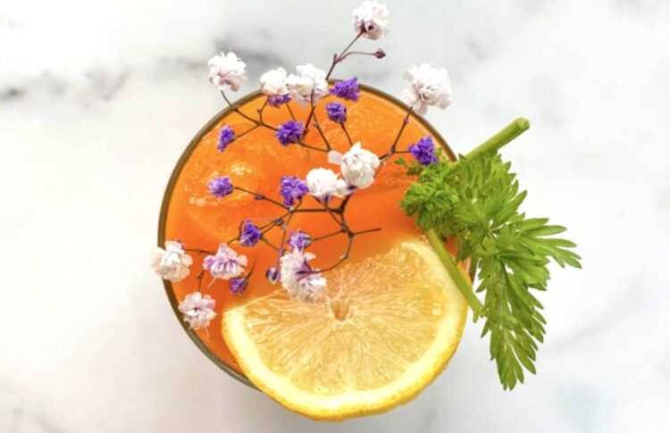Go Green with a Booze-Free Cannabis Cocktail