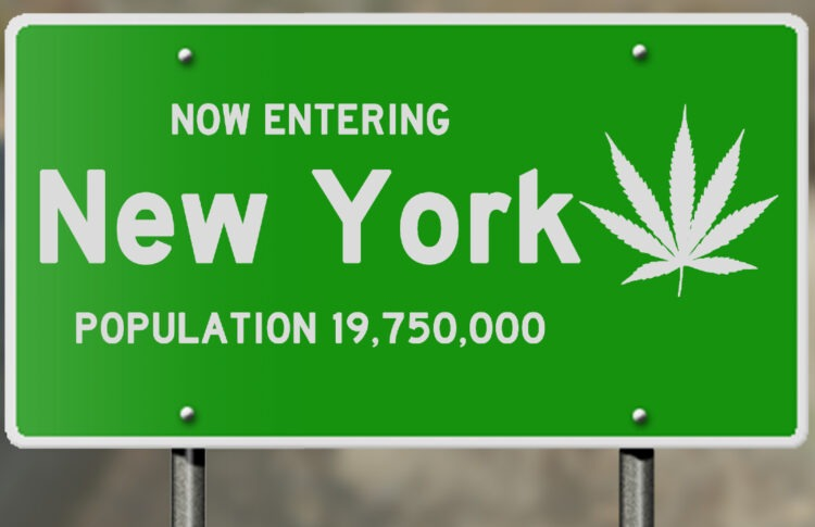 Cuomo Signs N.Y. Pot Bill, With Sales Due as Soon as 2022
