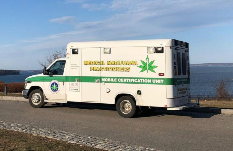 Medical Cannabis Ambulance Hits The Road In Maine