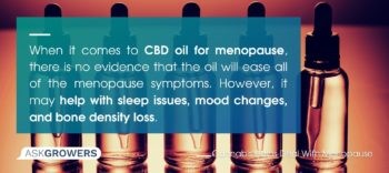 Use Cannabis to Relieve Menopause Symptoms